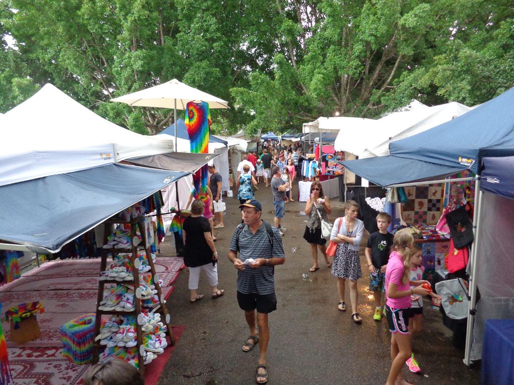 Eumundi markets (Amy McPherson)