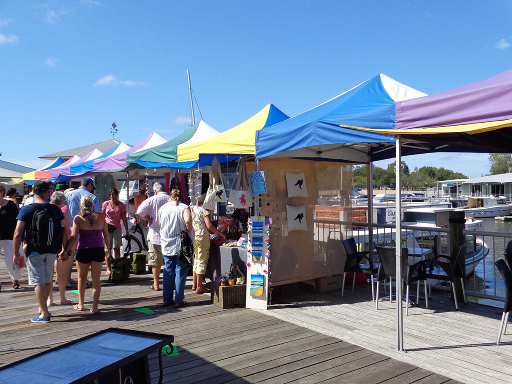 Noosa Marina markets (Amy McPherson)