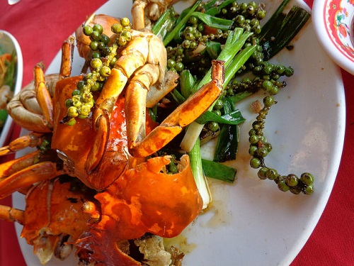 Pepper crab from Kampot - Amy McPherson