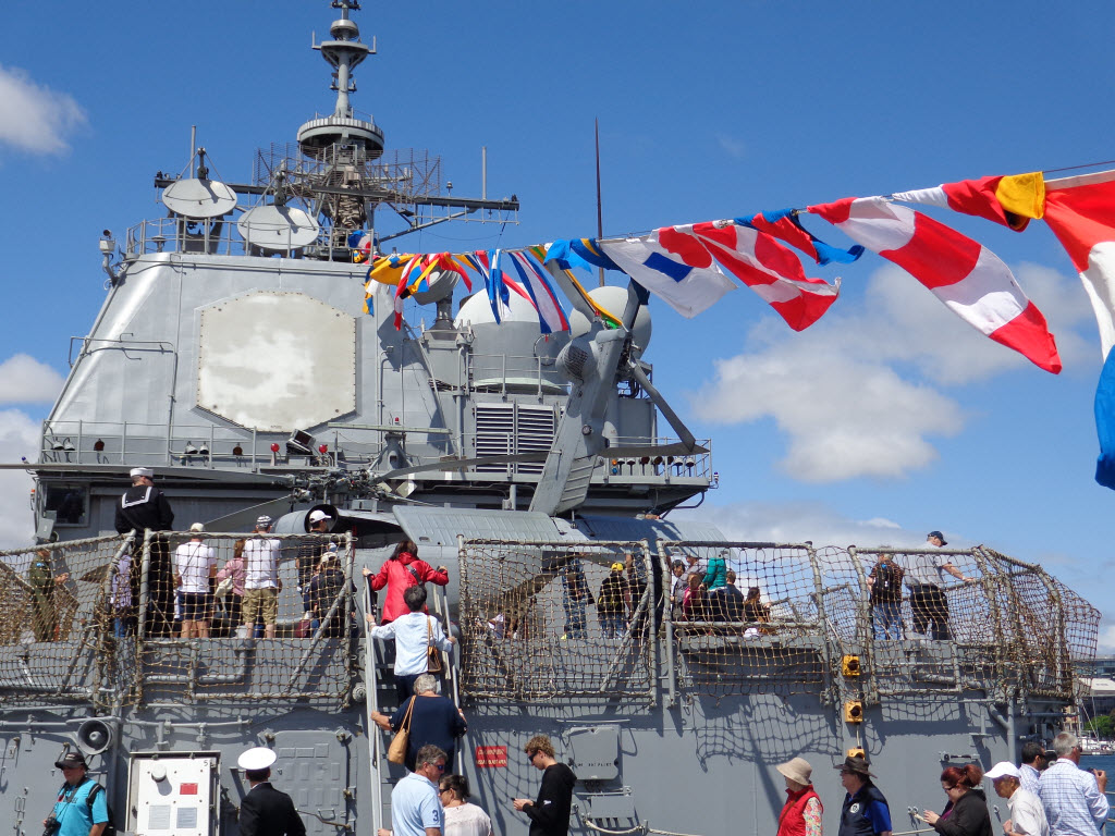 Sydney International Fleet Review - USS Chosin - Amy McPherson