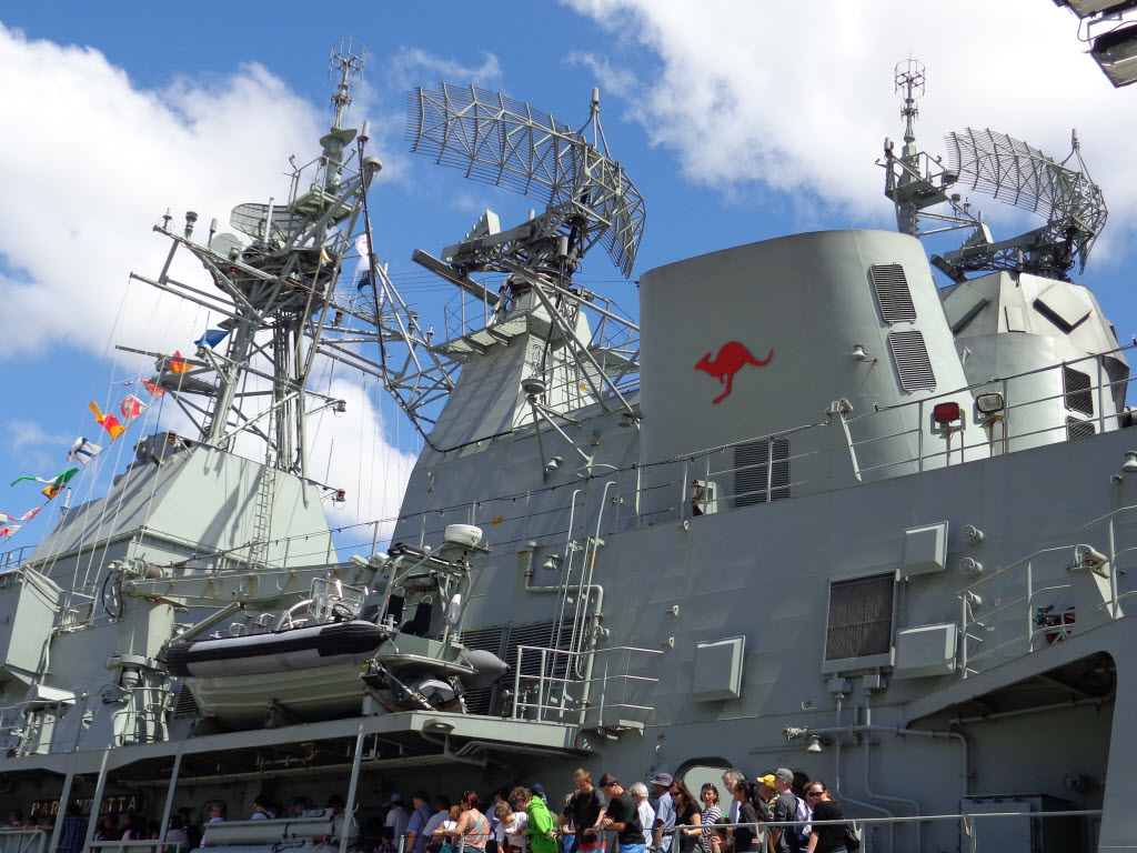 Sydney International Fleet Review - HMAS Parramatta - Amy McPherson
