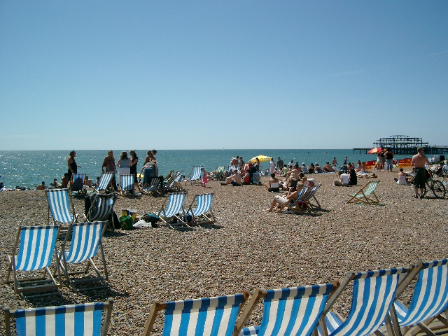 Brighton, England - Amy McPherson