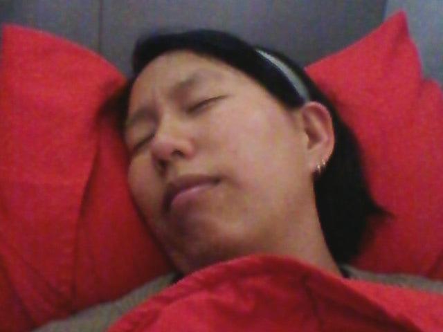 Air Asia Premium Sleep - Amy McPherson