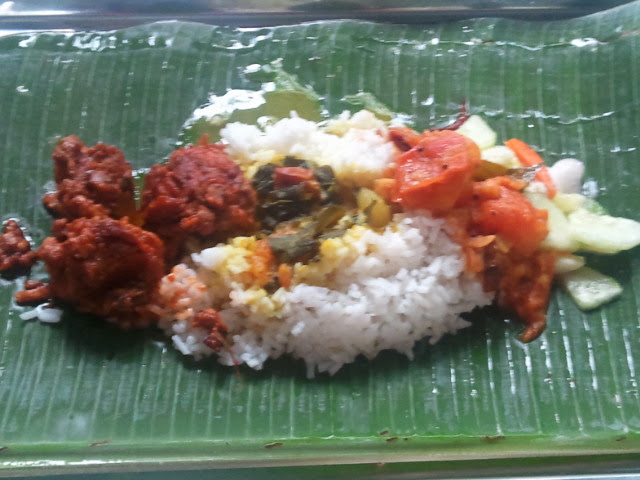 Banana leaf meal pack - Amy McPherson