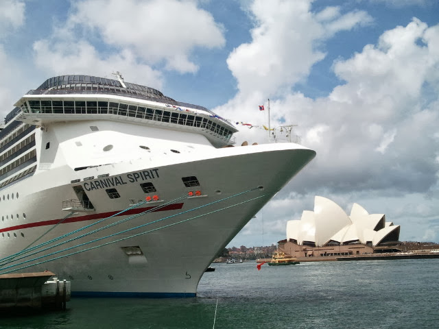 The Carnival Spirit in Sydney - Amy McPherson