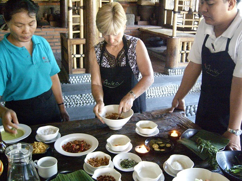 Bali cooking class - Amy McPherson