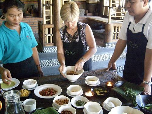 Bali cooking class - Amy McPherson