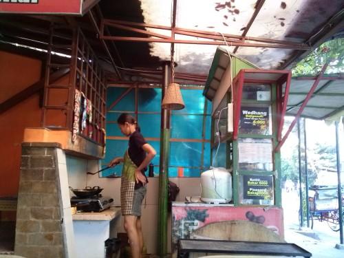Street side 'resto' in Jogja - Amy McPherson