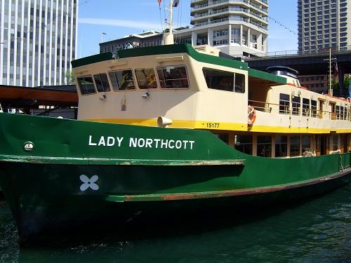 Sydney Ferries, Lady Northcott - Amy McPherson