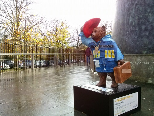 Tardis Paddington Bear - Amy McPherson
