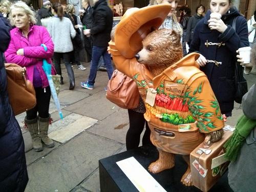 Taste of Peru Paddington Bear - Amy McPherson