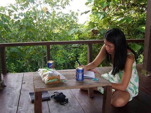 Writing at Paganakan Dii