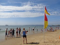 Bournemouth beach - popular with locals on a warm summer day!