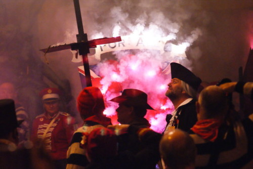 Guy Fawkes celebrations in Lewes (Image source: Wikimedia Commons CC BY-SA 2.0| Credit to: Peter Trimming)