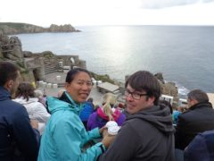 Hello from the Minack Theatre!