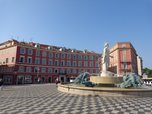 Fontaine du Soleil in Nice (Photo: William McPherson)